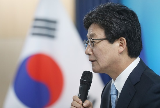 Rep. Yoo Seong-min of the minor conservative Bareun Party (Yonhap)