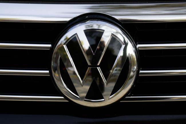 Volkswagen logo (Yonhap)