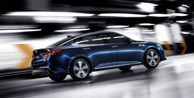 Kia Motors, South Korea's second-largest automaker, released a high performance version of its flagship sedan, dubbed the K5 GT on Monday. The new model is equipped with electronically controlled suspension and comes with an enhanced interior and exterior. (Hyundai Motor Group)