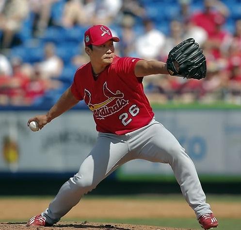 St. Louis Cardinals' closer Oh Seung-hwan (AP-Yonhap)