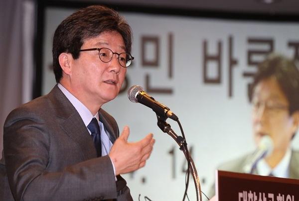 Yoo Seong-min, presidential nominee of Bareun Party. (Yonhap)