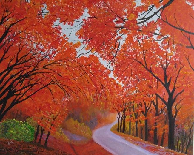 """Fall Maple"" by Reginald hart"
