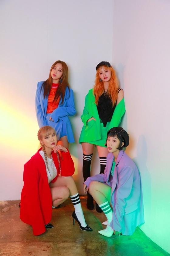 K-pop group EXID (Banana Culture Entertainment)