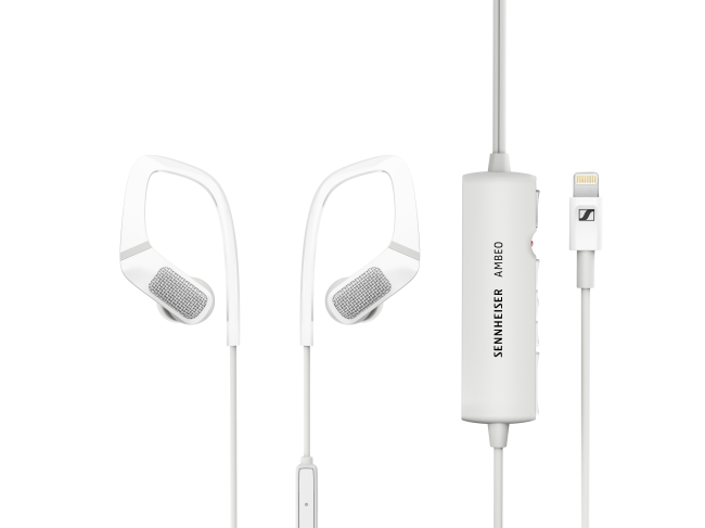 The AMBEO smart headset (Sennheiser)