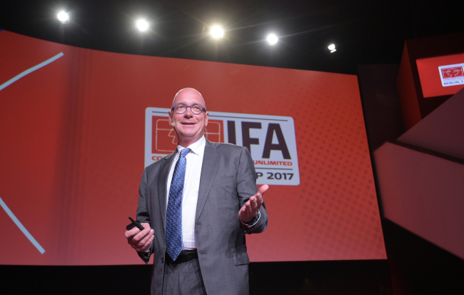 Jurgen Boyny, global director of consumer electronics at GfK Retail and Technology (IFA)