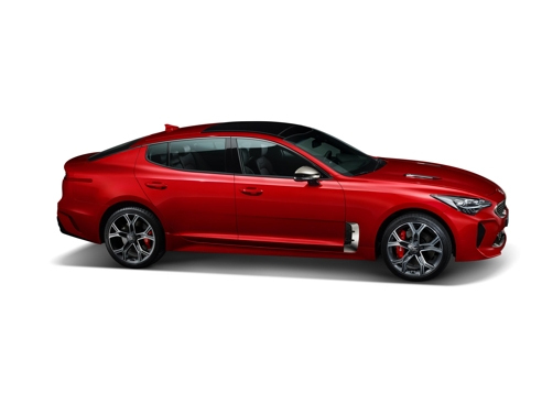 Kia Stinger sports car (Kia Motors)