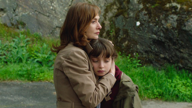 "Isabelle Huppert (left) and Themis Pauwels star in ""Barrage."" (JIFF)"