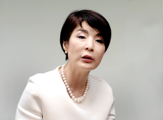 Park Euna, ambassador for public diplomacy at the Foreign Ministry. (Park Hyun-koo/The Korea Herald)