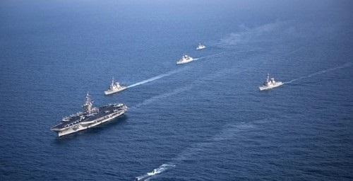 US Navy ship collides with South Korean fishing boat