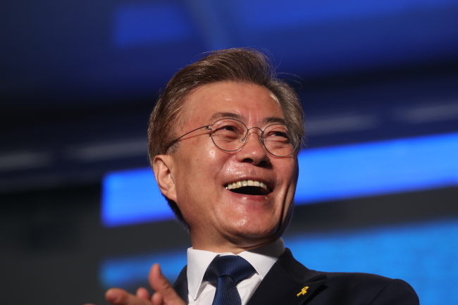 Liberal claims win in South Korean election