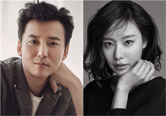 Kim Nam-gil (left) and Kim A-joong (O& Entertainment/King Entertainment)