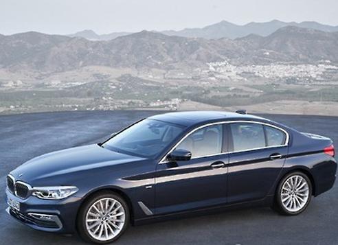BMW's new 5 series model (Yonhap)