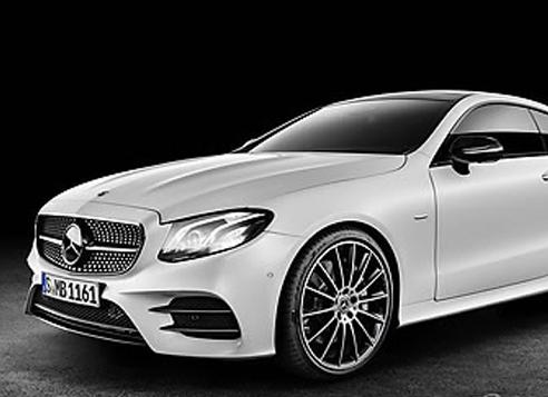 Mercedes-Benz's new E-class coupe (Yonhap)