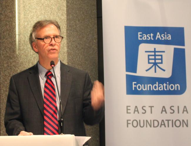 Robert S. Litwak, vice president for programs at the Woodrow Wilson International Center for Scholars in Washington D.C. (East Asia Foundation)