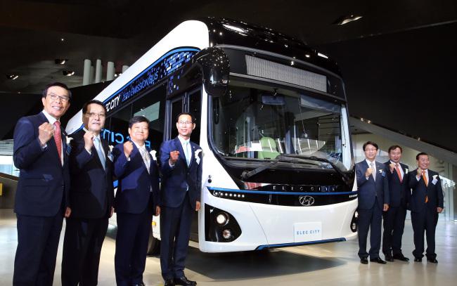 Hyundai Motor Unveils Elec City