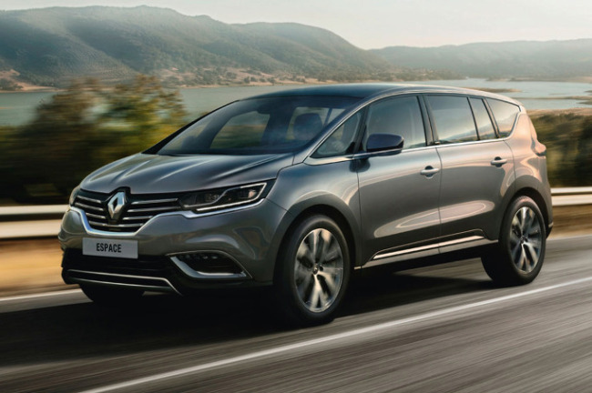 renault espace minivan to hit korean market next year. Black Bedroom Furniture Sets. Home Design Ideas