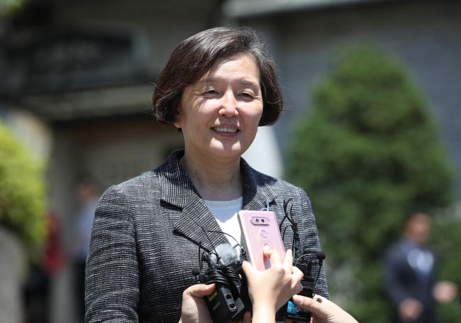 Kim Hei-sook, new president of Ewha Womans University. (Yonhap)
