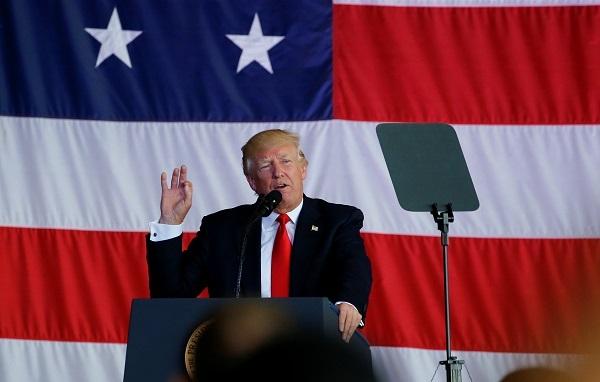US President Donald Trump (Reuters)