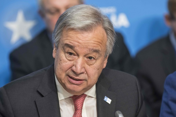 Guterres says letter on terror bill not United Nations consensus