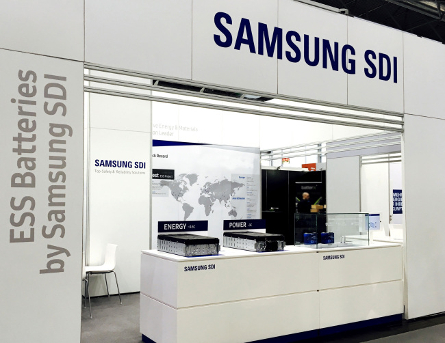 Samsung SDI unveils new ESS products for European homes