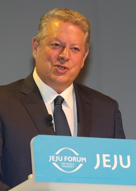 Former United States Vice President Al Gore (Yonhap)