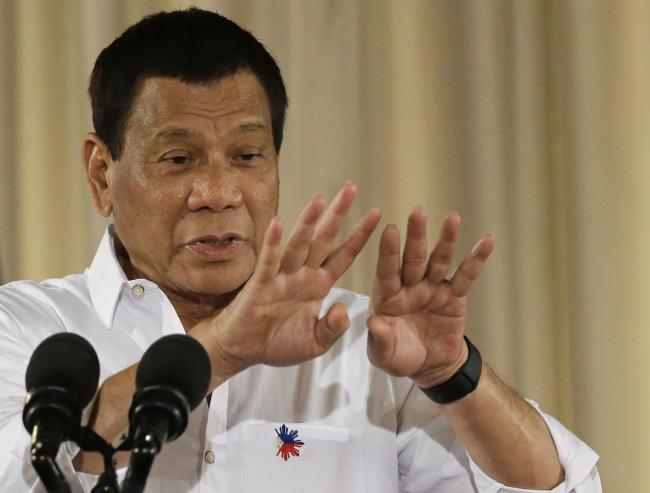 Philippine President Rodrigo Duterte (Yonhap)