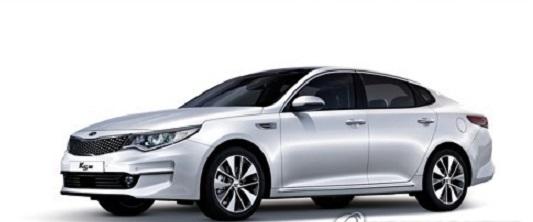 Kia's Optima sedan gets top marks in US IIHS crash test. (Yonhap)