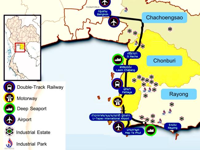 Thailand's Eastern Economic Corridor (Pugnatorius)