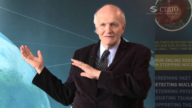 Physicist and professor Frank Von Hippel of Princeton University. (Princeton University)