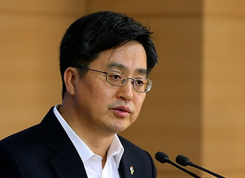 Kim Dong-yeon, nominee for deputy prime minister and finance minister (Yonhap)