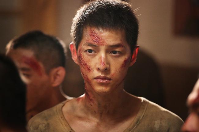 "Song Joong-ki stars in ""The Battleship Island."" (CJ Entertainment)"