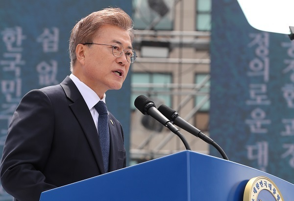 S Korean president picks ex-navy man for defense