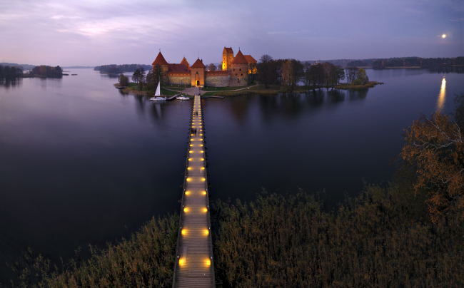 Trakai Castle in Lithuania (State Department of Tourism)