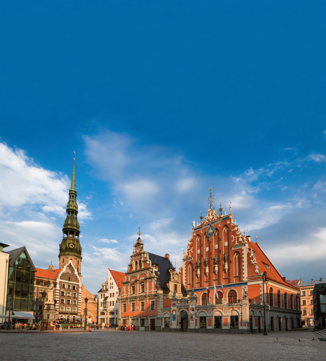 Old Riga in Latvia (Investment and Development Agency of Latvia)