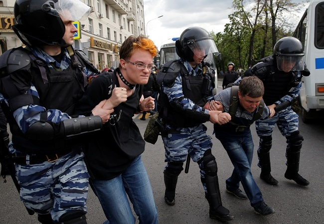 Navalny announced a big protest action in Moscow 03.09.2015 18