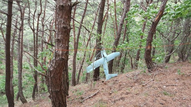 North Korean drone (JCS)