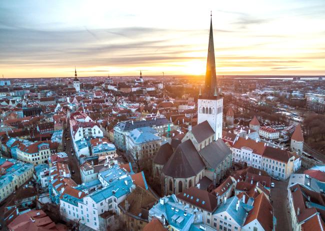 Tallin Old Town in Estonia (Alan Silmann)