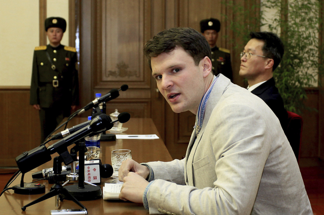 United States student Otto Warmbier freed by North Korea has 'severe brain injury'