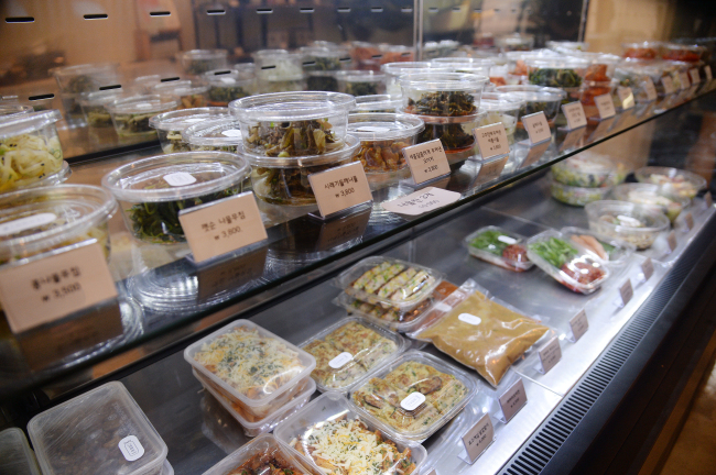 Mamalee Market in Samseong-dong offers an array of dishes, from Korean