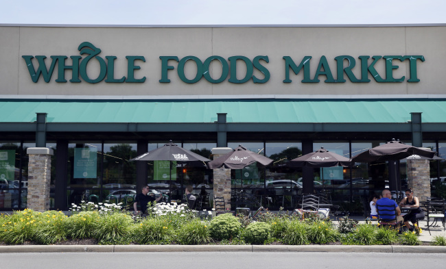 A Whole Foods Market in Indianapolis (AP-Yonhap)