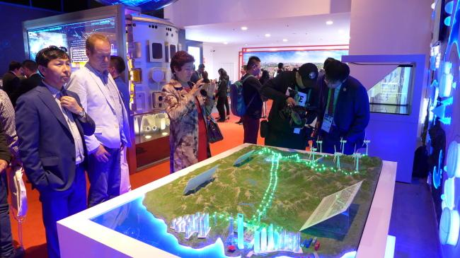 The Chinese pavilion (Joel Lee/The Korea Herald)