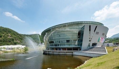Taekwondowon in Muju, North Jeolla Province, the venue for the 2017 WTF World Taekwondo Championships from June 24-30, 2017. (WTF)