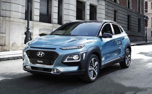 Hyundai Motor Co.`s Kona subcompact SUV. (Yonhap)