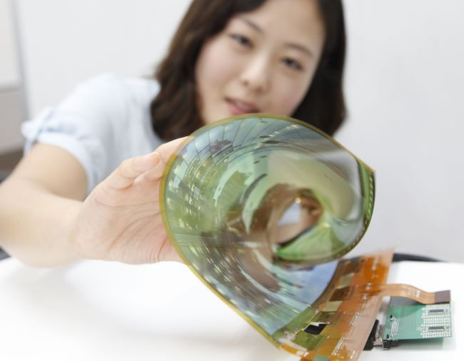 LG Display Develops World's First 77-Inch Transparent Flexible OLED Display