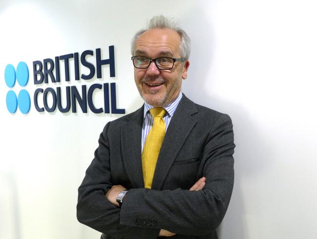 Director of the British Council Korea Martin Fryer (Joel Lee/The Korea Herald)