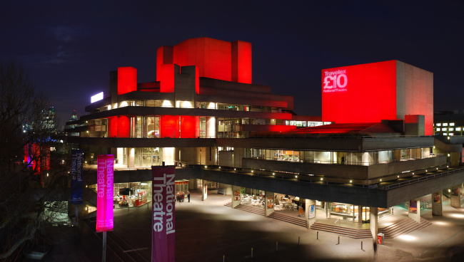 The National Theatre of Great Britain in London (The Royal National Theatre)