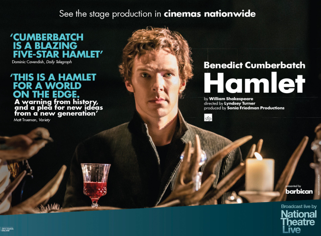 A Shakespearean play by the National Theatre of Great Britain in London (The Royal National Theatre)