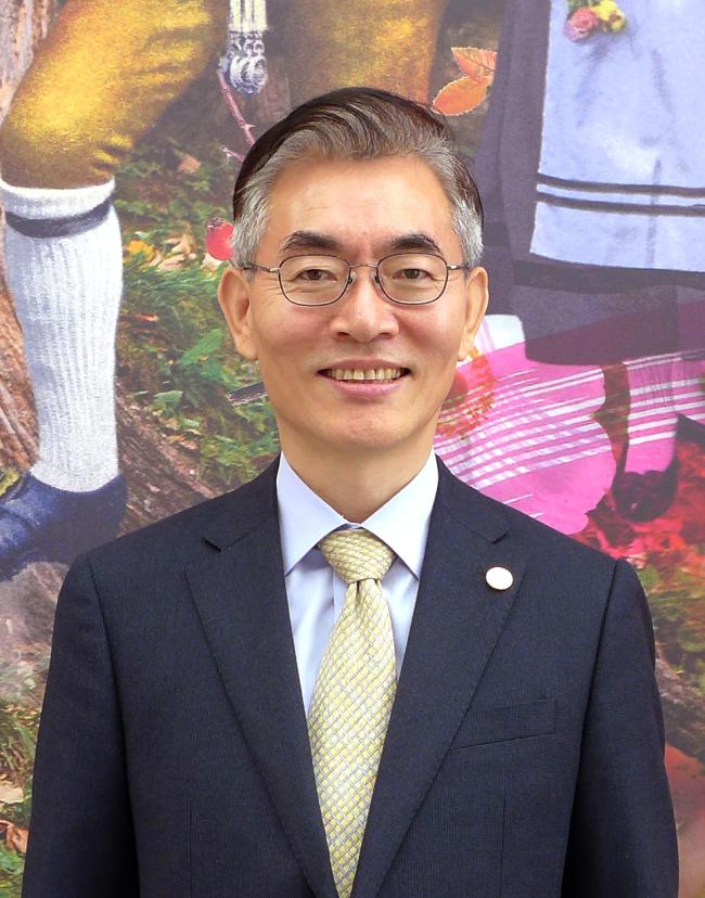 Korean Ambassador to Kazakhstan Kim Dae-sik (Joel Lee/The Korea Herald)
