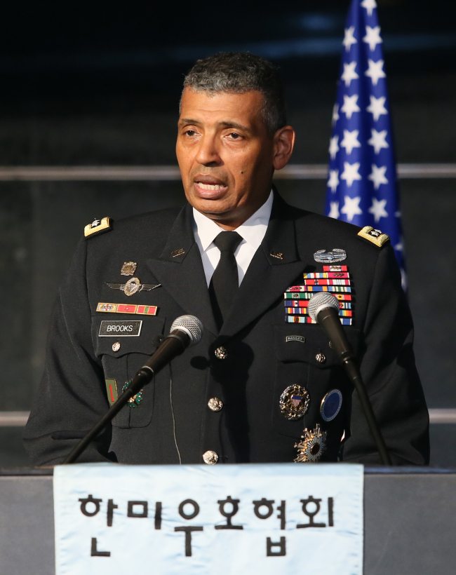 Gen. Vincent K. Brooks, commander of the United Nations Command, Combined Forces Command and United States Forces Korea (Korea America Friendship Society)