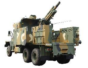 The new self-propelled 105 mm howitzer (DAPA)